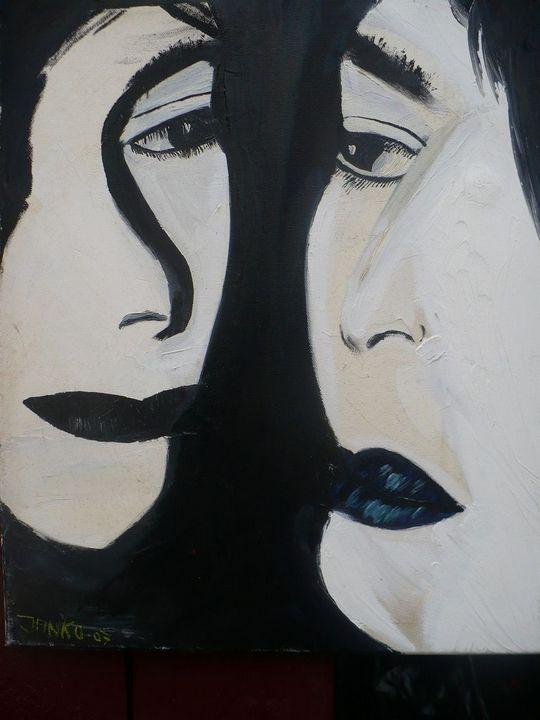 black and white - Janko