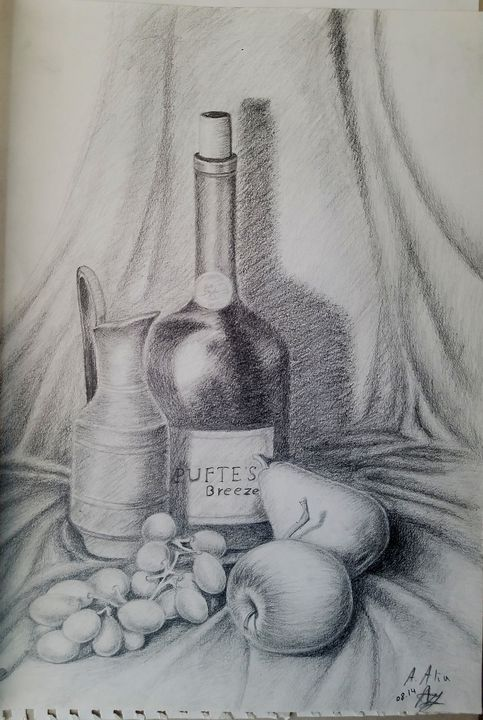 Still Life #1 - A.Alia Art