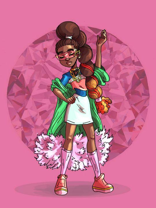 Kendra is Fierce - Every Girl Wears a Crown