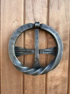 Door Knocker Metal CROSS shape