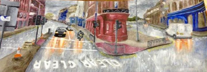 🌧 - Acrylic paintings