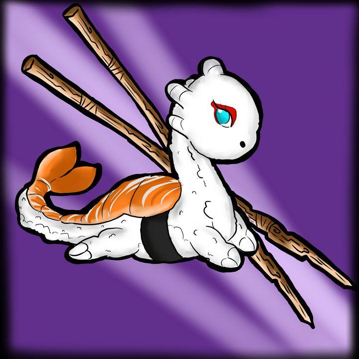 Dragon Sushi - midnighpuppy