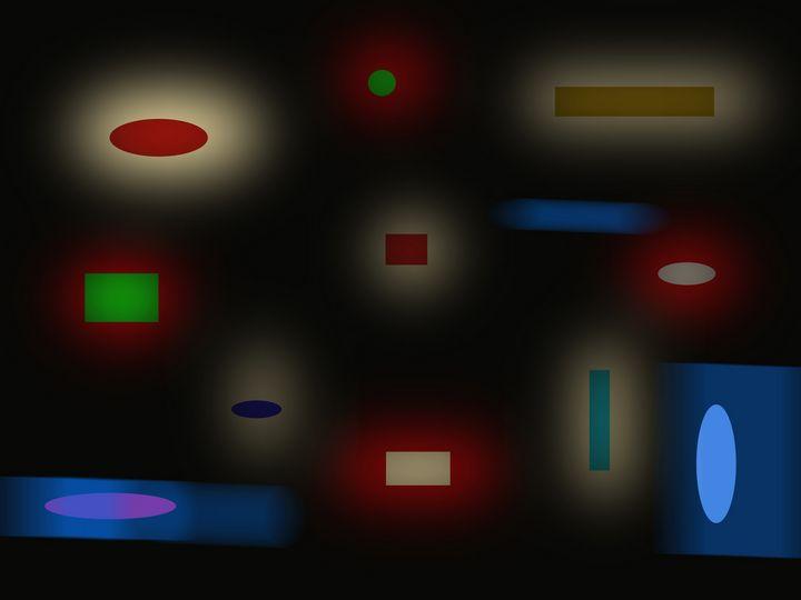 Abstract 22 black - David R. Bedingfield