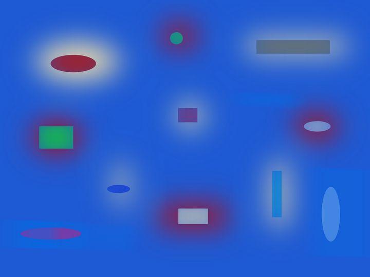 Abstract#23 Blue - David R. Bedingfield