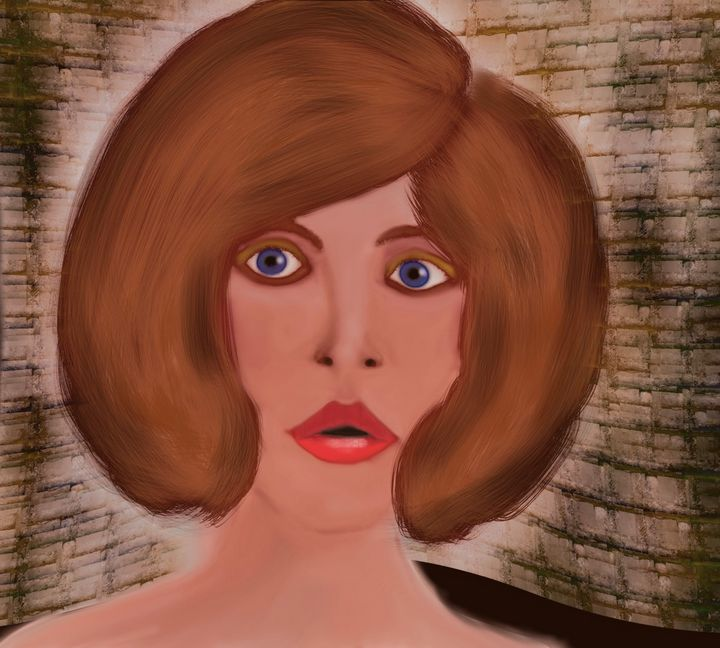 Big hair and blue eyes - David R. Bedingfield