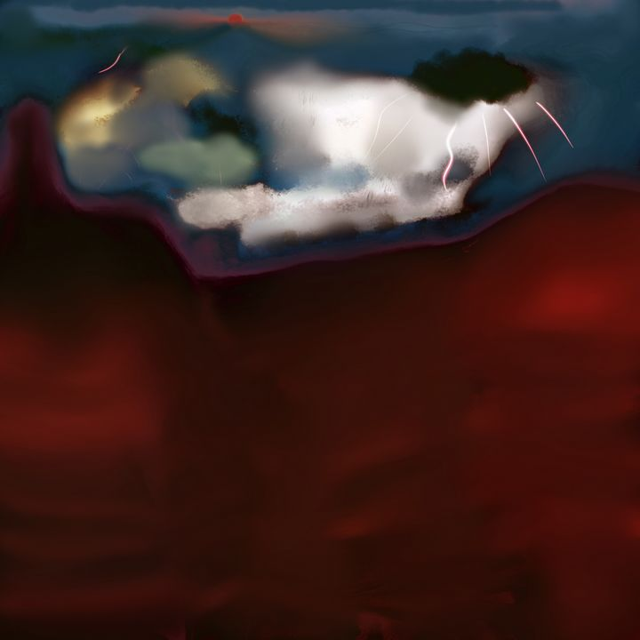 Black canyon lights - David R. Bedingfield