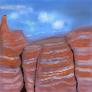 Broken Mesa - David R. Bedingfield