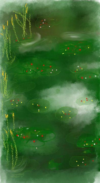 Lily pond - David R. Bedingfield