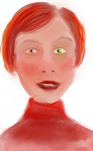 Green eyed lass