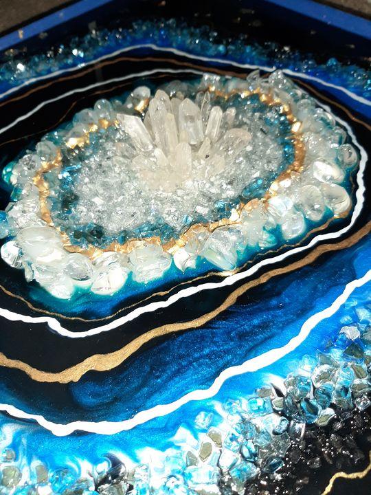 Crystal geode - Heidi Davis