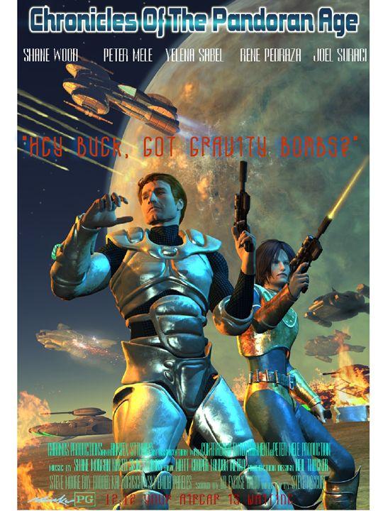 Film Poster Concept Neil Thacker - Chronos Productions