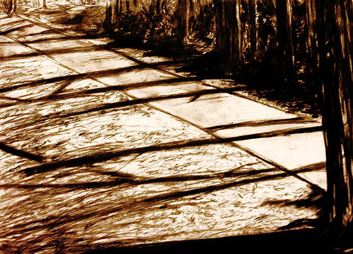 Shadows of Trees - T.O. Fine Art