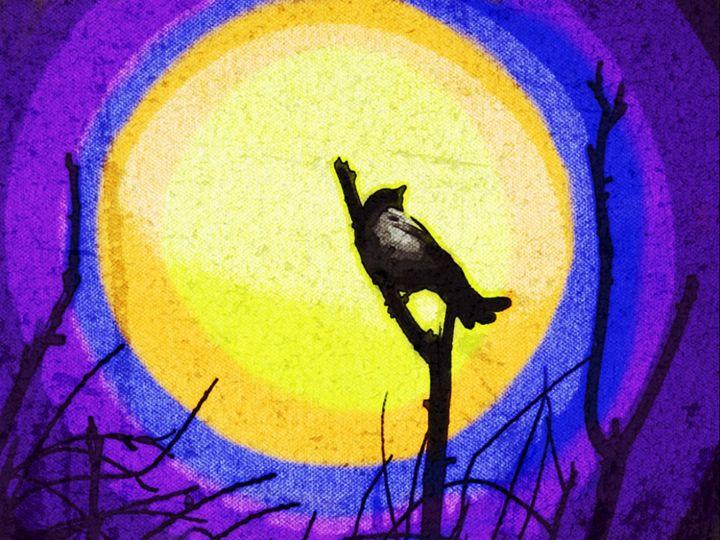 bird on branch -  Nima1352
