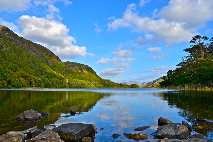 View from Kylemore Abbey - CMsterZ