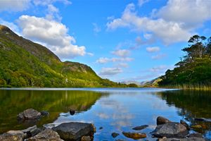 View from Kylemore Abbey