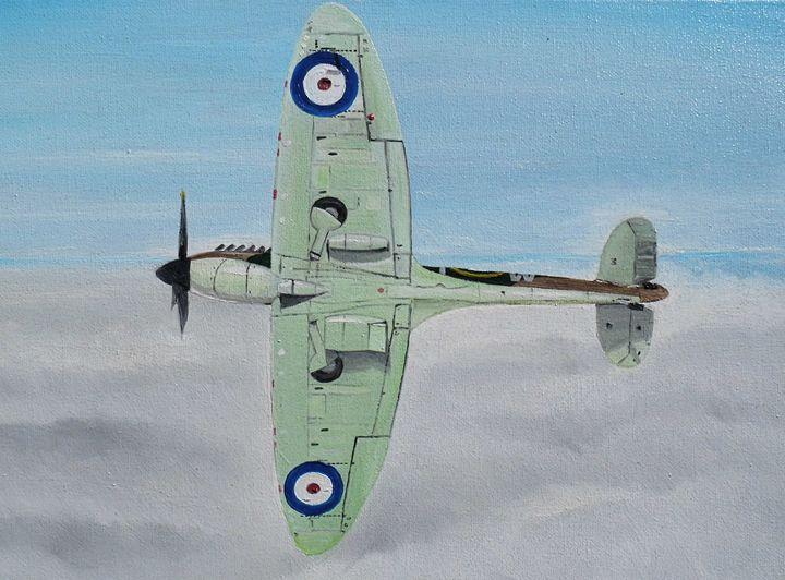 Supermarine Spitfire - Nicholas Peter Coker: Aviation Artist