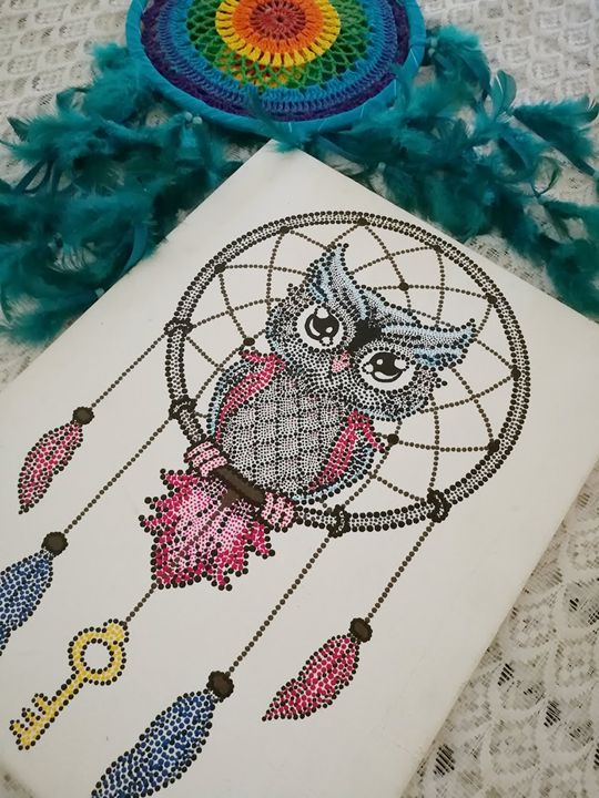 Oh what a hoot! - The Freckled Canvas