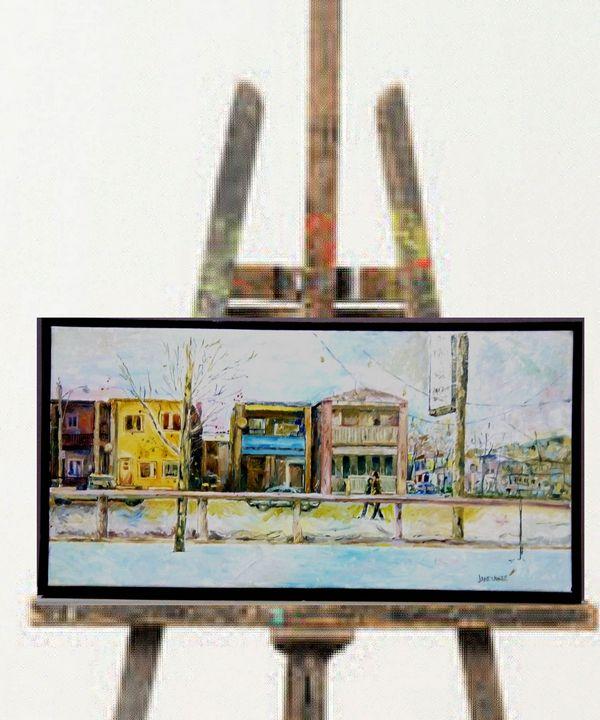Dundas row houses - Mike Janetakes