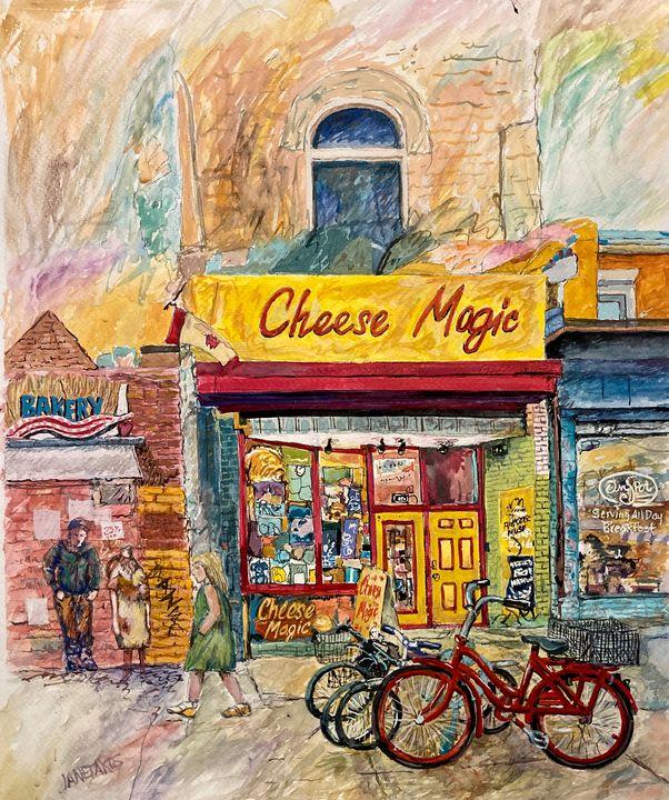 Cheese Magic - Mike Janetakes