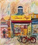 Cheese Magic - Original Watercolour