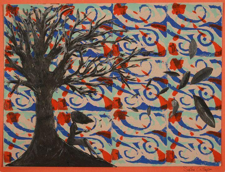 Windy evening - Sophie G's art