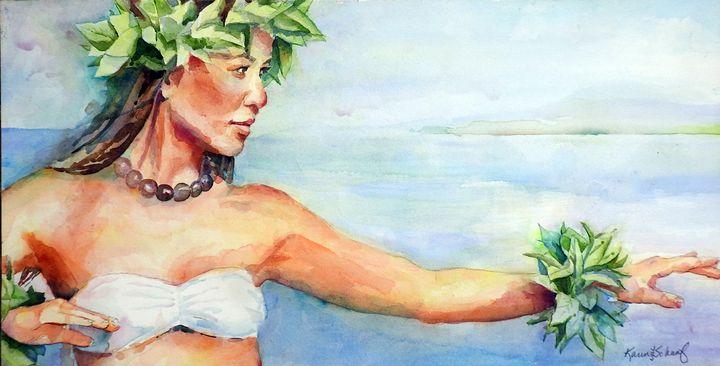 Hula Kahiko - Community Artists Gallery & Studios