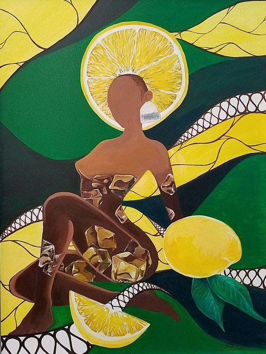Lemon Iced Tea - Paint with Faith