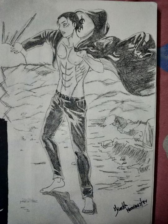 Eren jaeger Attack On Titan - MorningStar Anime