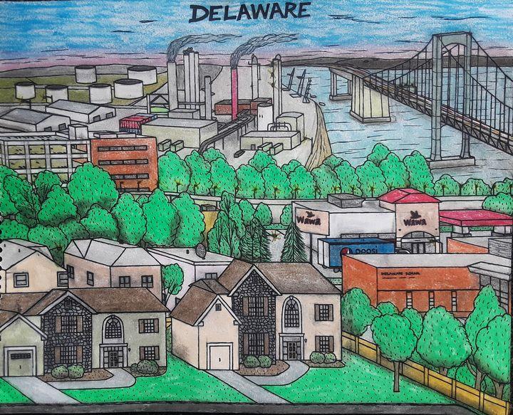 Delaware State - Brandon B-City Crawford