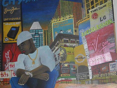 B-City Times Square Manhattan - Brandon B-City Crawford