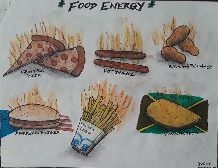Food energy - Brandon B-City Crawford
