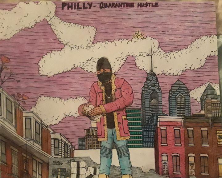Philly's Quarantine hustle - Brandon B-City Crawford