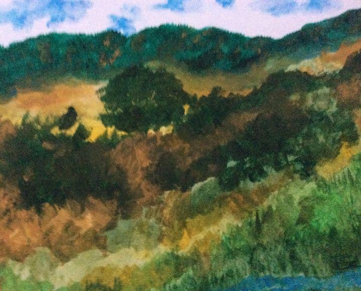 Mountain Scenery - High Mountain Art