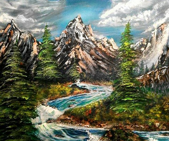 surreal river rapids - T.J. Nobile