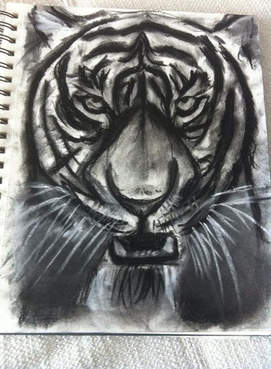 Anger - Charcoal sketches
