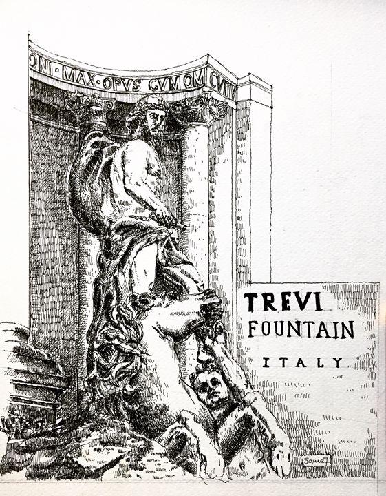 Trevi Fountain - Sameh