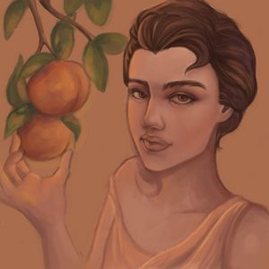 Persephone and her Peaches