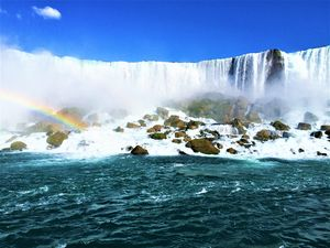Rainbow Over Niagara - Zana's Gallery