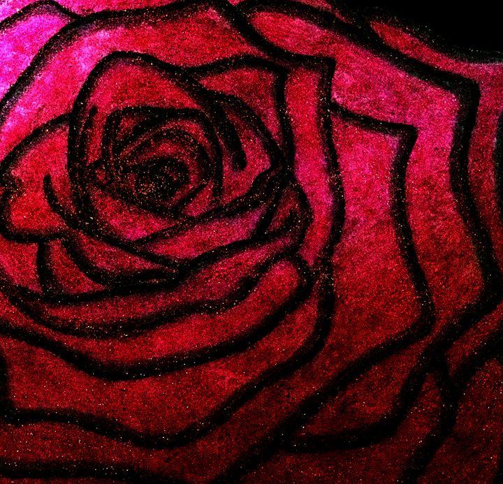 The Dark Rose - Shereen's Gallery