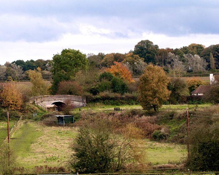 Autumn Bridge - Mistynet Photography