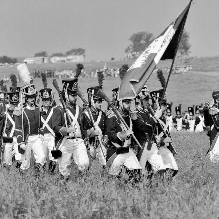 The reenactment of the Battle of Wat - pbombaert