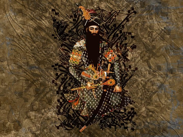 The King of Persia - MixArt