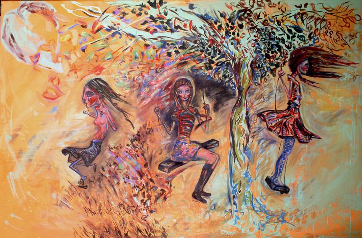 Girls on Swing (The Three Seasons) - Beautifully Broken Hearts