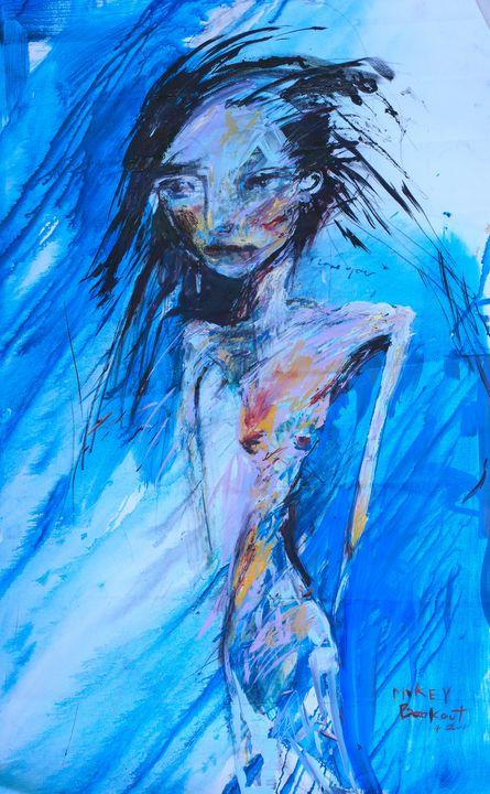 Vampyre in Blue - Beautifully Broken Hearts