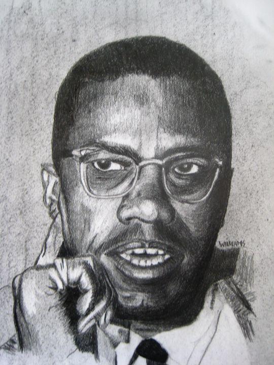 Malcolm X - Andrew Williams Art