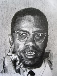 Malcolm X - Andrew Williams Art