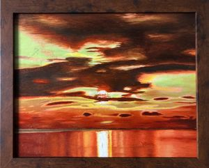 Orange Sunrise - Andrew Williams Art