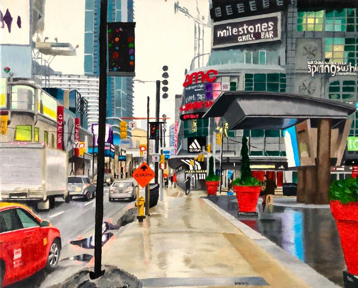 Yonge Dundas Square - Andrew Williams Art