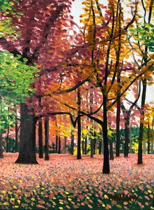 High Park in October. - Andrew Williams Art