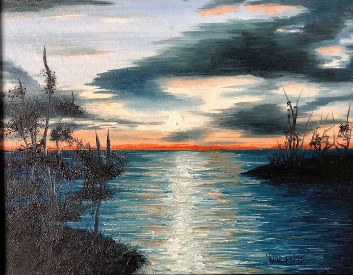 Blue Lagoon - Andrew Williams Art
